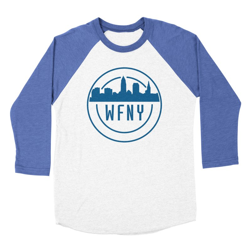 WFNY Logo Gear! Men's Baseball Triblend T-Shirt by WFNY - WaitingForNextYear