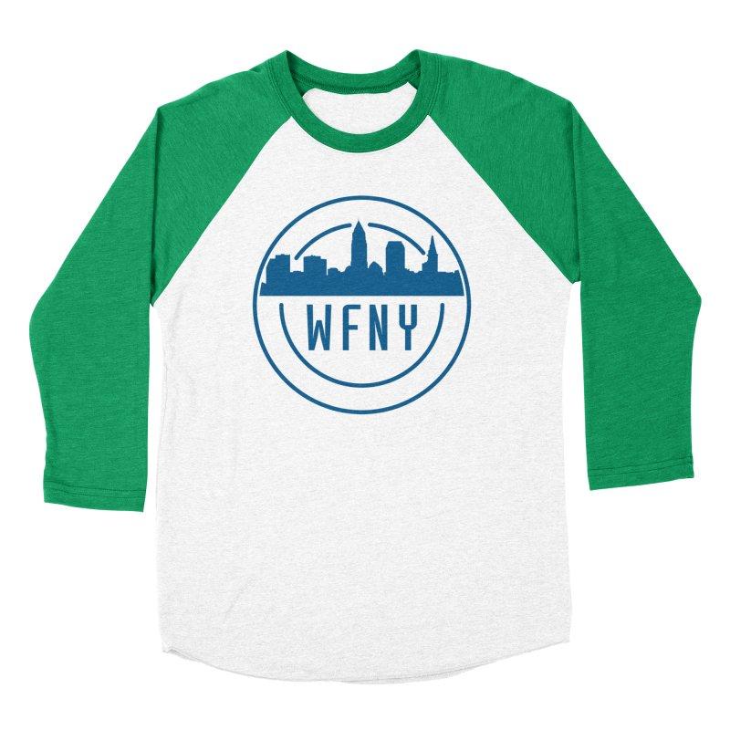 WFNY Logo Gear! Men's Baseball Triblend Longsleeve T-Shirt by WFNY - WaitingForNextYear