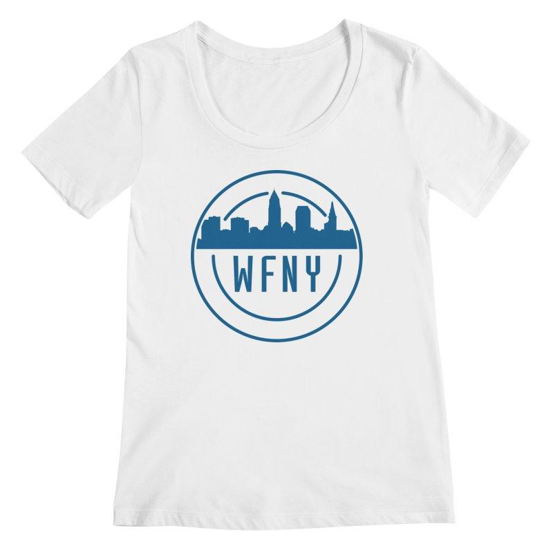 WFNY Logo Gear! Women's Scoopneck by WFNY - WaitingForNextYear