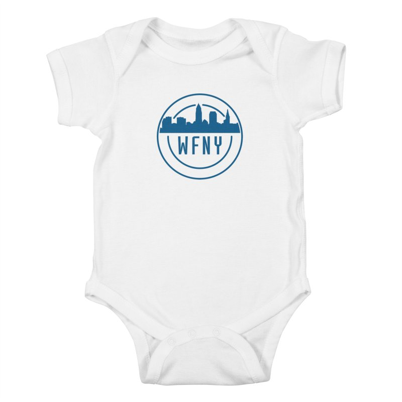 WFNY Logo Gear! Kids Baby Bodysuit by WFNY - WaitingForNextYear