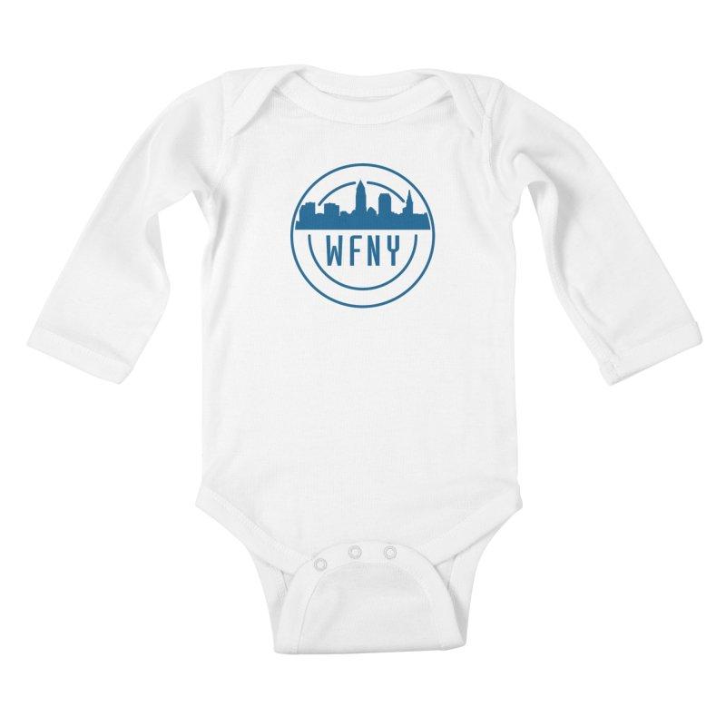 WFNY Logo Gear! Kids Baby Longsleeve Bodysuit by WFNY - WaitingForNextYear