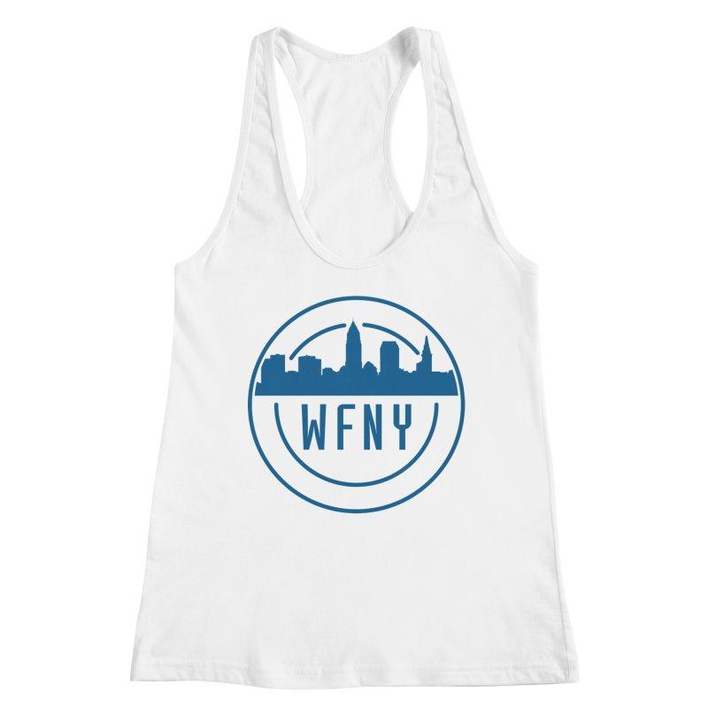 WFNY Logo Gear! Women's Racerback Tank by WFNY - WaitingForNextYear