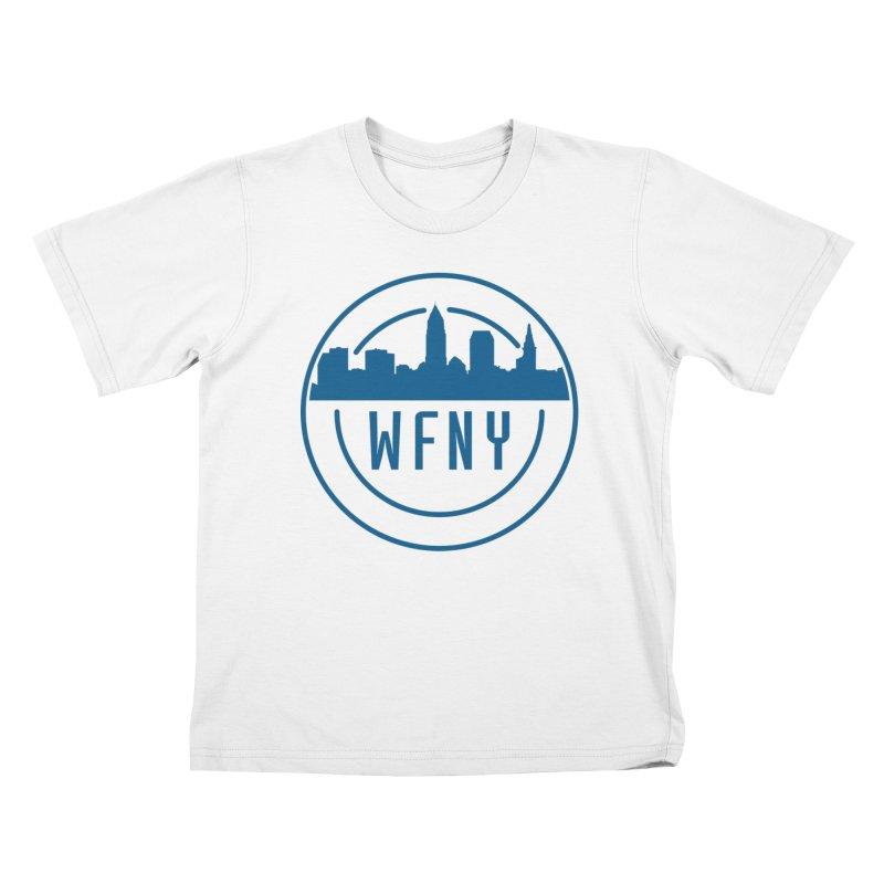 WFNY Logo Gear! Kids T-Shirt by WFNY - WaitingForNextYear