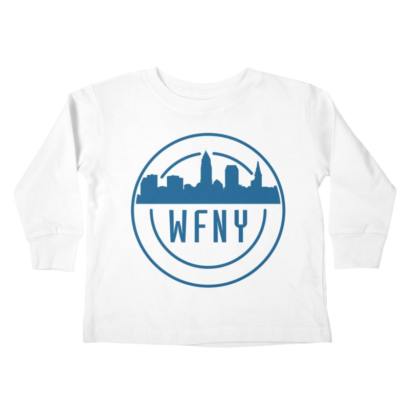 WFNY Logo Gear! Kids Toddler Longsleeve T-Shirt by WFNY - WaitingForNextYear