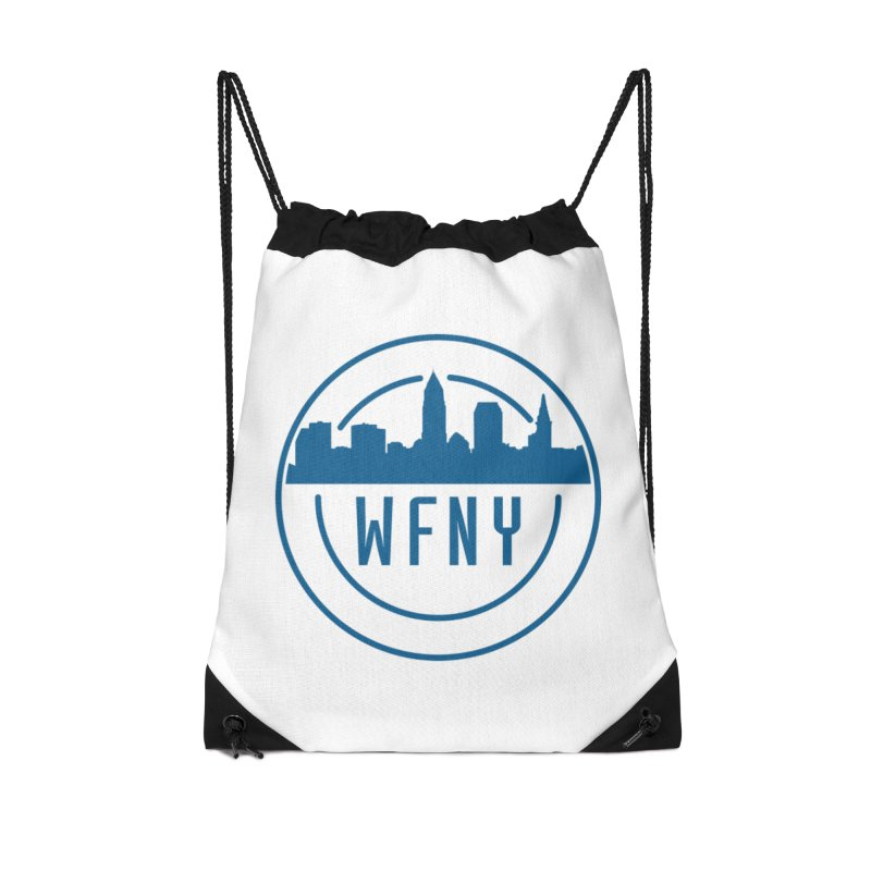 WFNY Logo Gear! Accessories Drawstring Bag Bag by WFNY - WaitingForNextYear