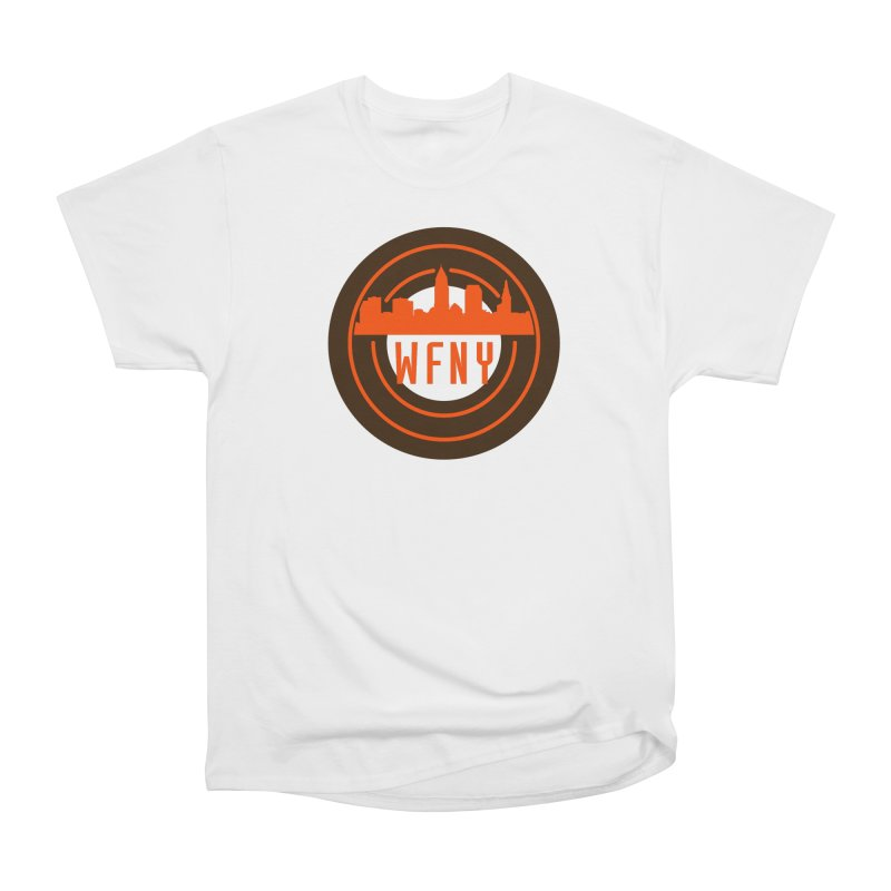Cleveland Football Circle Men's T-Shirt by WFNY - WaitingForNextYear