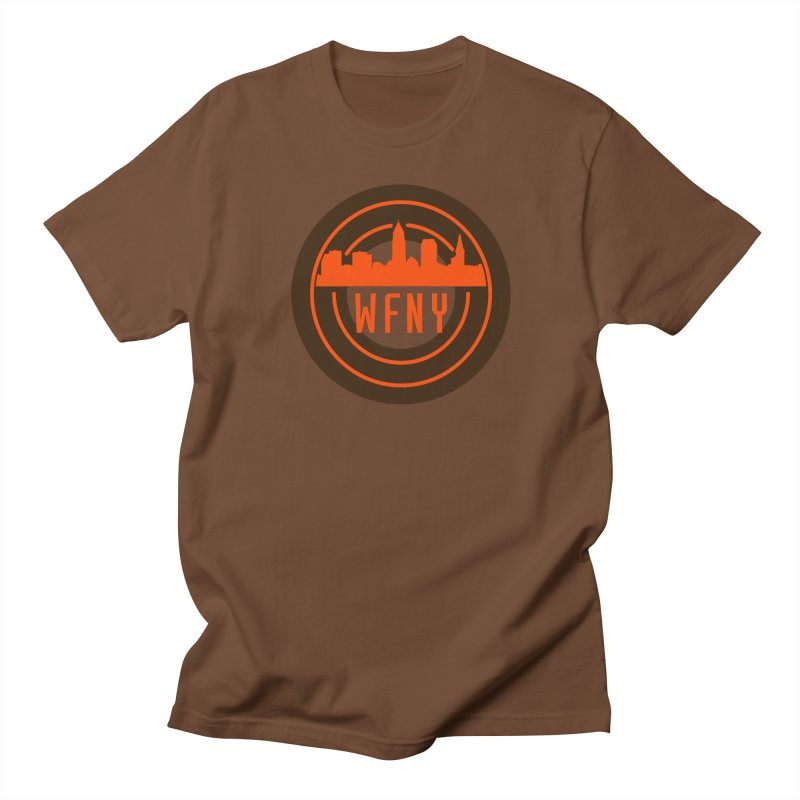 Cleveland Football Circle Men's Regular T-Shirt by WFNY - WaitingForNextYear