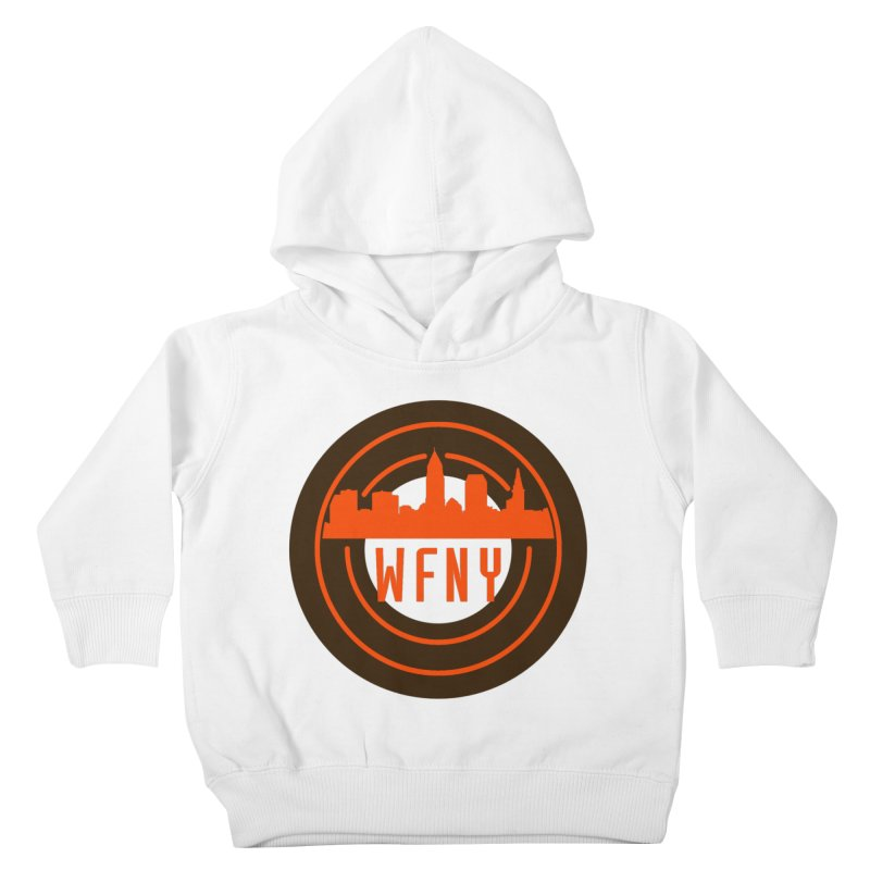 Cleveland Football Circle Kids Toddler Pullover Hoody by WFNY - WaitingForNextYear