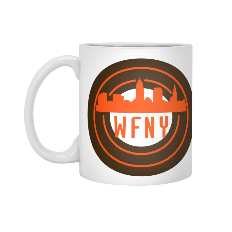 Cleveland Football Circle Accessories Mug by WFNY - WaitingForNextYear