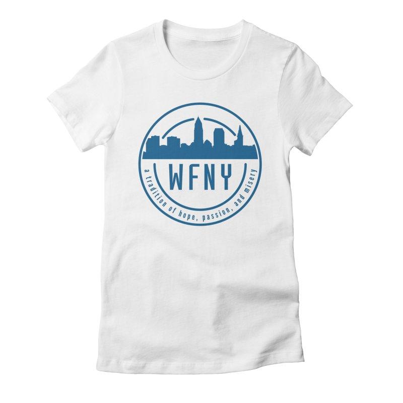 WFNY Logo with Tagline Women's T-Shirt by WFNY - WaitingForNextYear