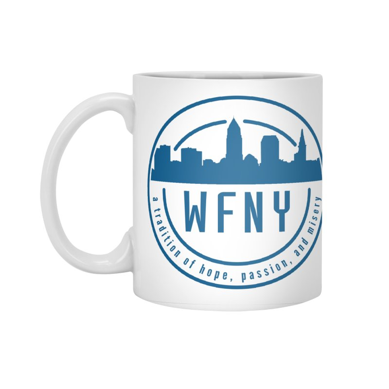 WFNY Logo with Tagline Accessories Standard Mug by WFNY - WaitingForNextYear