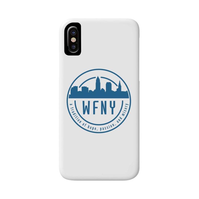 WFNY Logo with Tagline Accessories Phone Case by WFNY - WaitingForNextYear