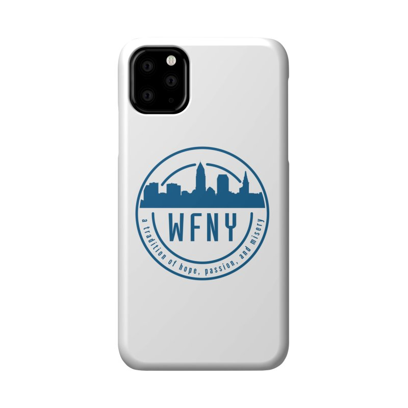 WFNY Logo with Tagline Accessories Phone Case by WFNY - WaitingForNextYear