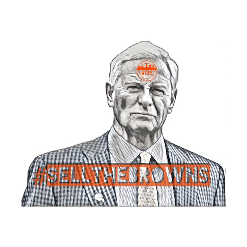 #SellTheBrowns Protest Shirt by WFNY - WaitingForNextYear