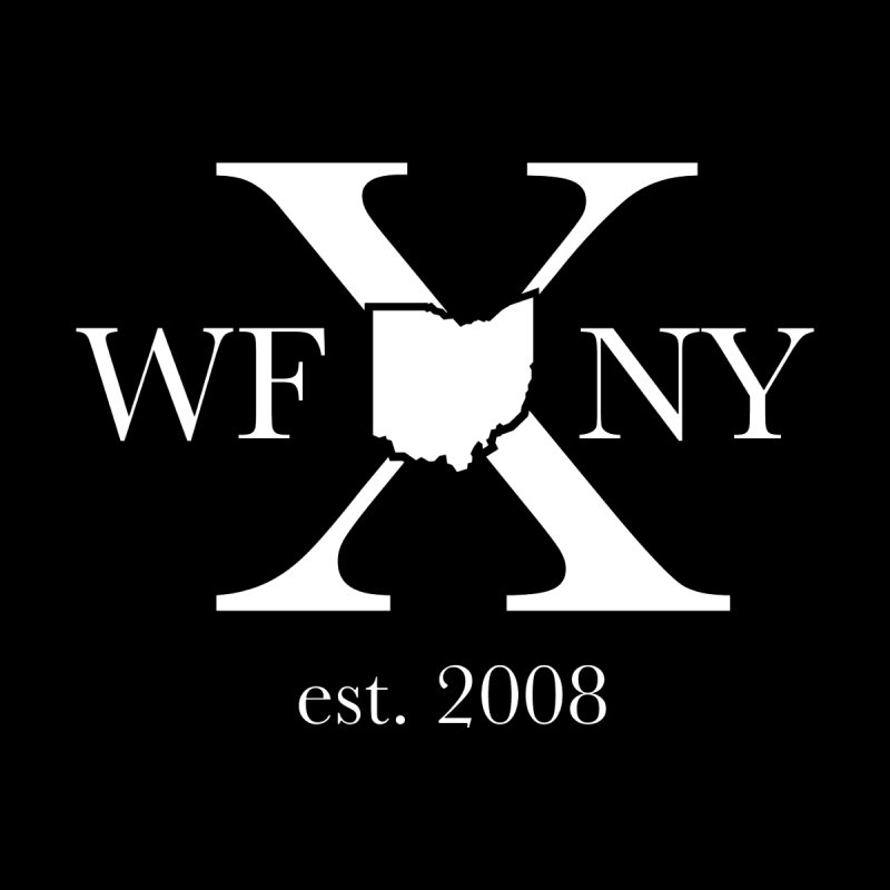 WFNY X White Logo Women's Scoop Neck by WFNY - WaitingForNextYear