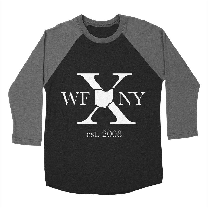 WFNY X White Logo Women's Longsleeve T-Shirt by WFNY - WaitingForNextYear