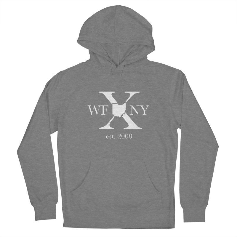 WFNY X White Logo Men's Pullover Hoody by WFNY - WaitingForNextYear