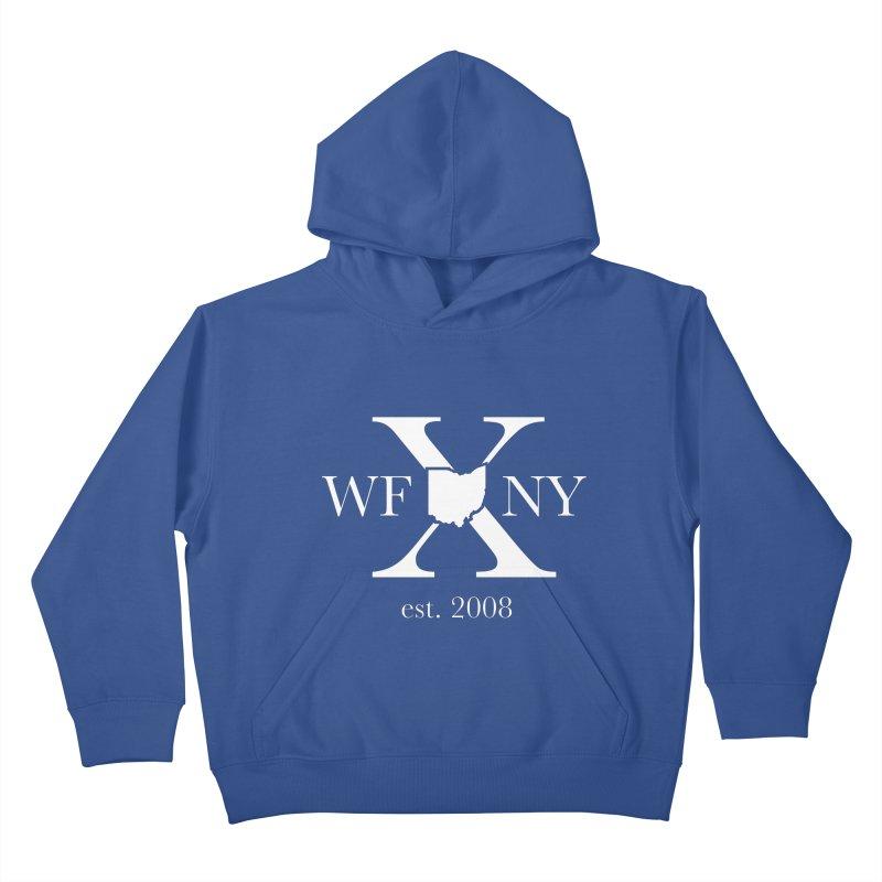 WFNY X White Logo Kids Pullover Hoody by WFNY - WaitingForNextYear