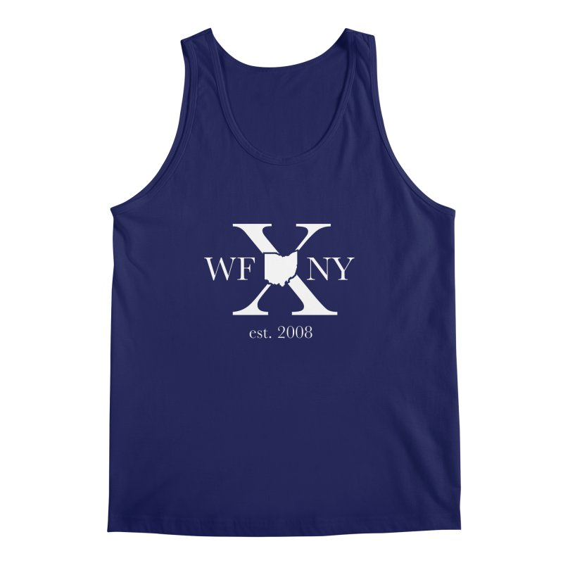 WFNY X White Logo Men's Regular Tank by WFNY - WaitingForNextYear
