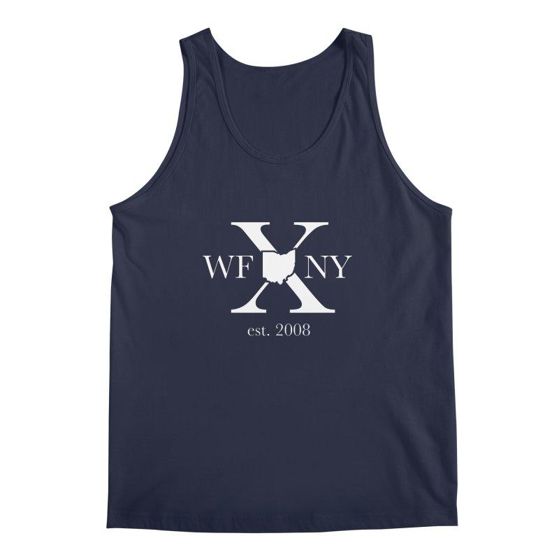 WFNY X White Logo Men's Regular Tank by WFNY - WaitingForNextYear
