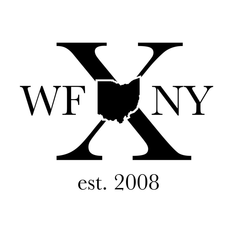 WFNYX Logo Black Home Framed Fine Art Print by WFNY - WaitingForNextYear