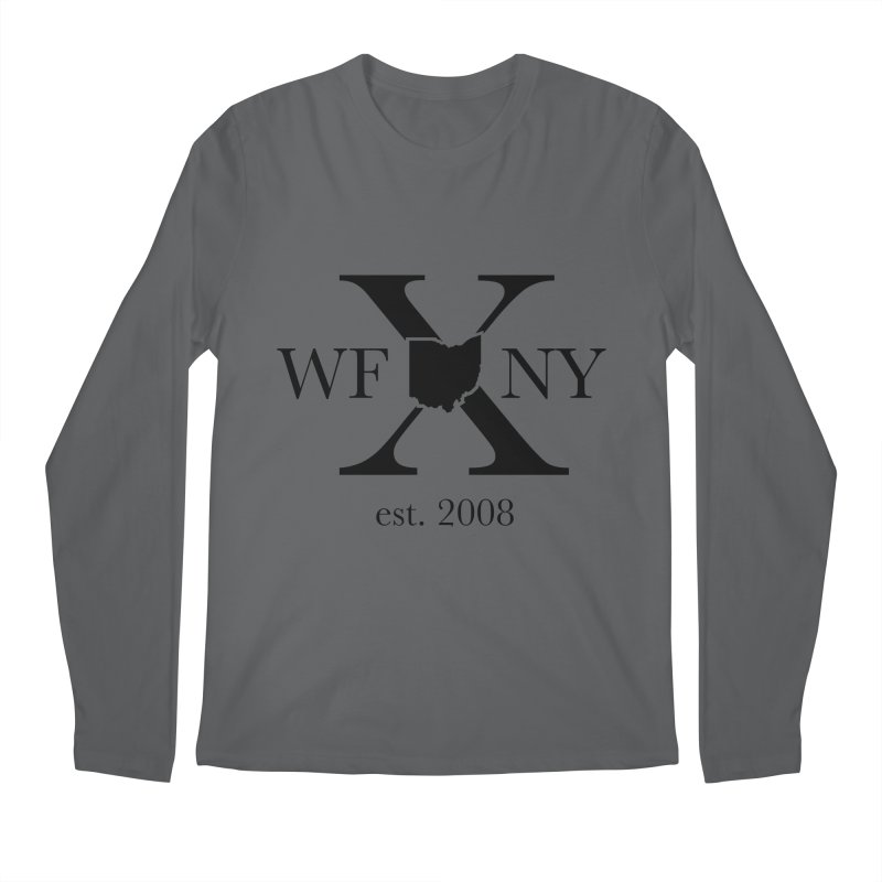 WFNYX Logo Black Men's Longsleeve T-Shirt by WFNY - WaitingForNextYear