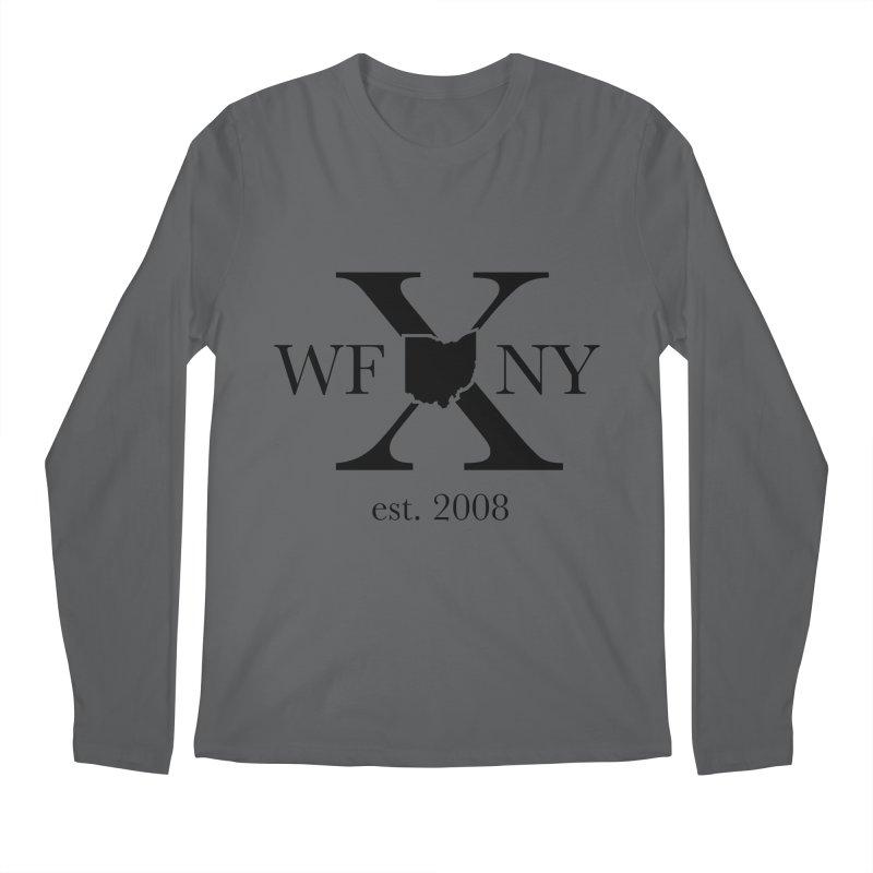 WFNYX Logo Black Men's Regular Longsleeve T-Shirt by WFNY - WaitingForNextYear