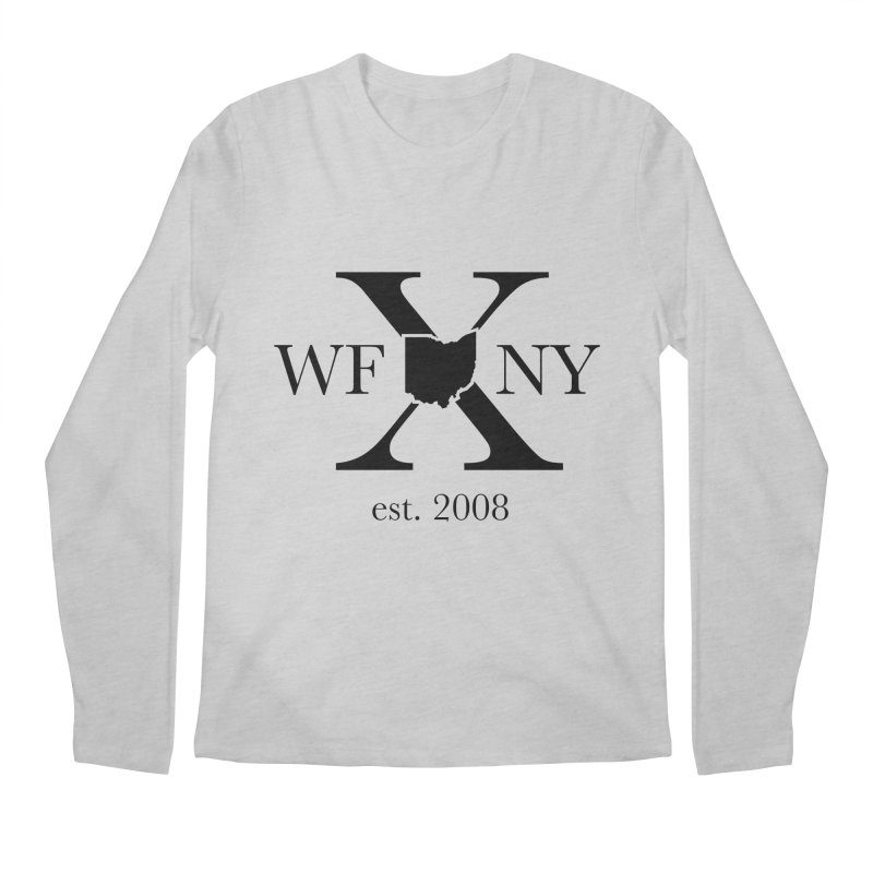 WFNYX Logo Black Men's Regular Longsleeve T-Shirt by WFNY - WaitingForNextYear