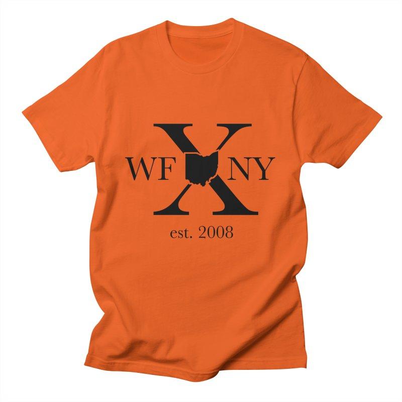 WFNYX Logo Black Men's T-Shirt by WFNY - WaitingForNextYear