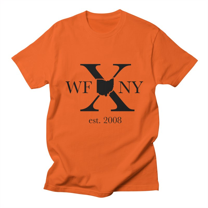 WFNYX Logo Black Women's Regular Unisex T-Shirt by WFNY - WaitingForNextYear