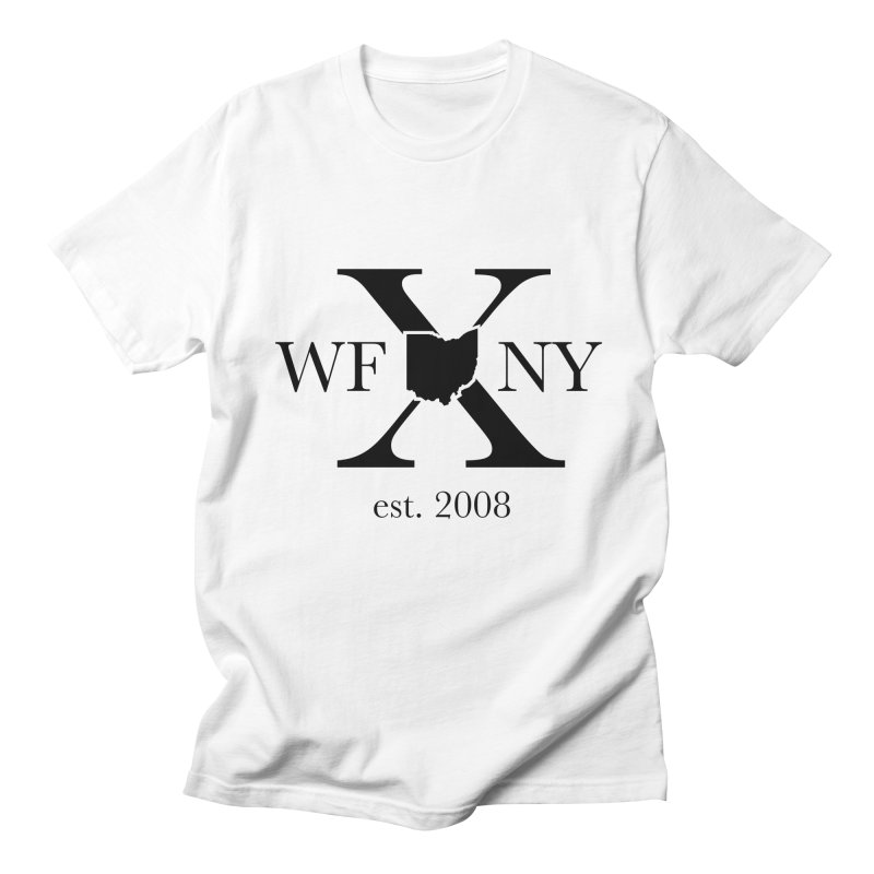 WFNYX Logo Black Men's Regular T-Shirt by WFNY - WaitingForNextYear