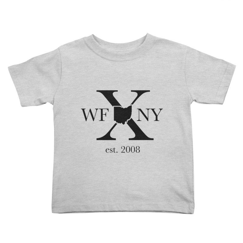 WFNYX Logo Black Kids Toddler T-Shirt by WFNY - WaitingForNextYear