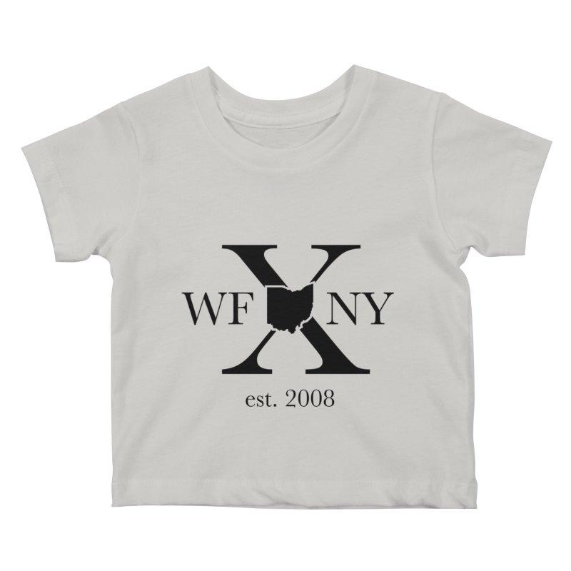 WFNYX Logo Black Kids Baby T-Shirt by WFNY - WaitingForNextYear