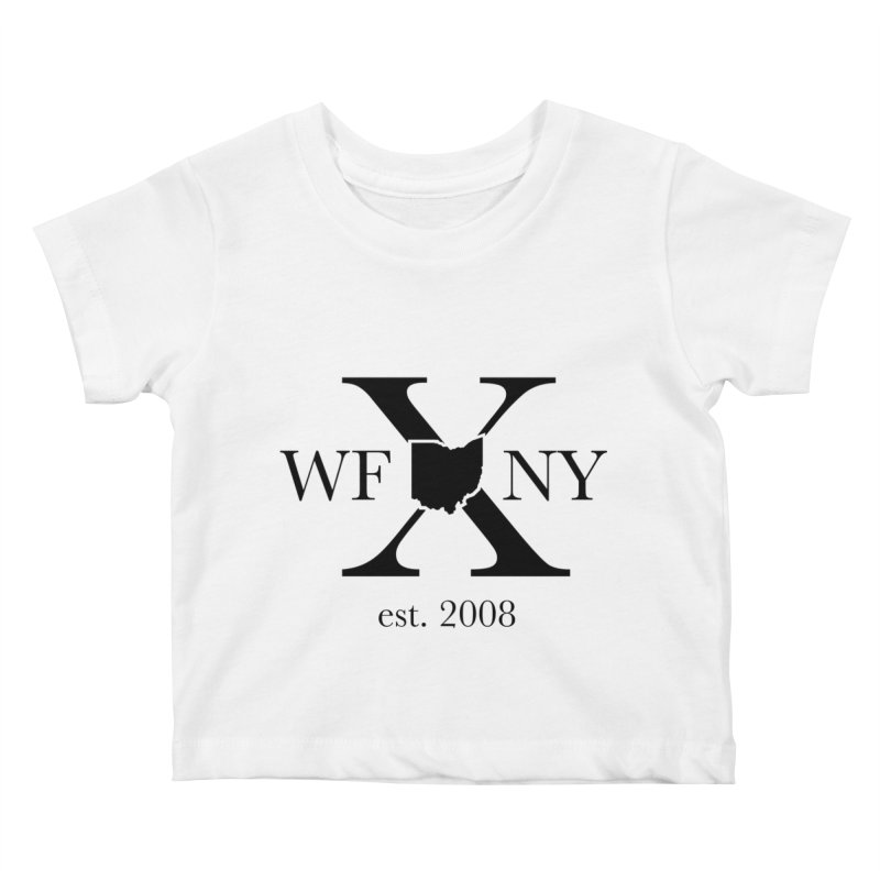 WFNYX Logo Black Kids Baby T-Shirt by WFNY - WaitingForNextYear