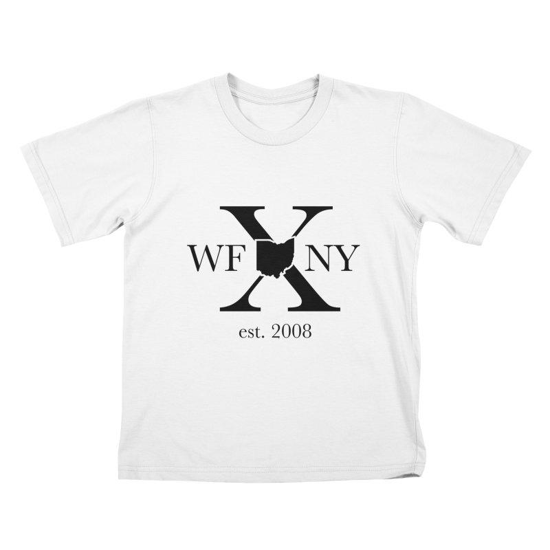 WFNYX Logo Black Kids T-Shirt by WFNY - WaitingForNextYear