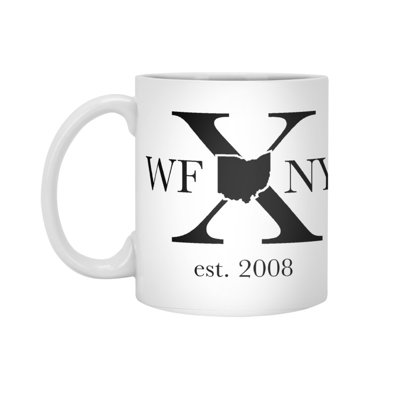 WFNYX Logo Black Accessories Standard Mug by WFNY - WaitingForNextYear