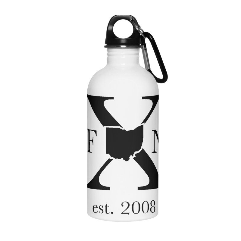 WFNYX Logo Black Accessories Water Bottle by WFNY - WaitingForNextYear