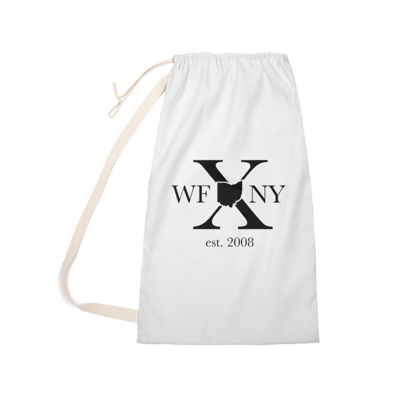 WFNYX Logo Black Accessories Bag by WFNY - WaitingForNextYear