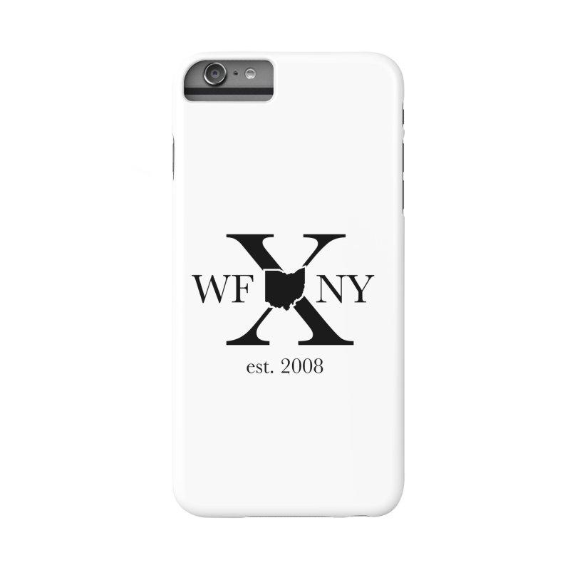 WFNYX Logo Black Accessories Phone Case by WFNY - WaitingForNextYear
