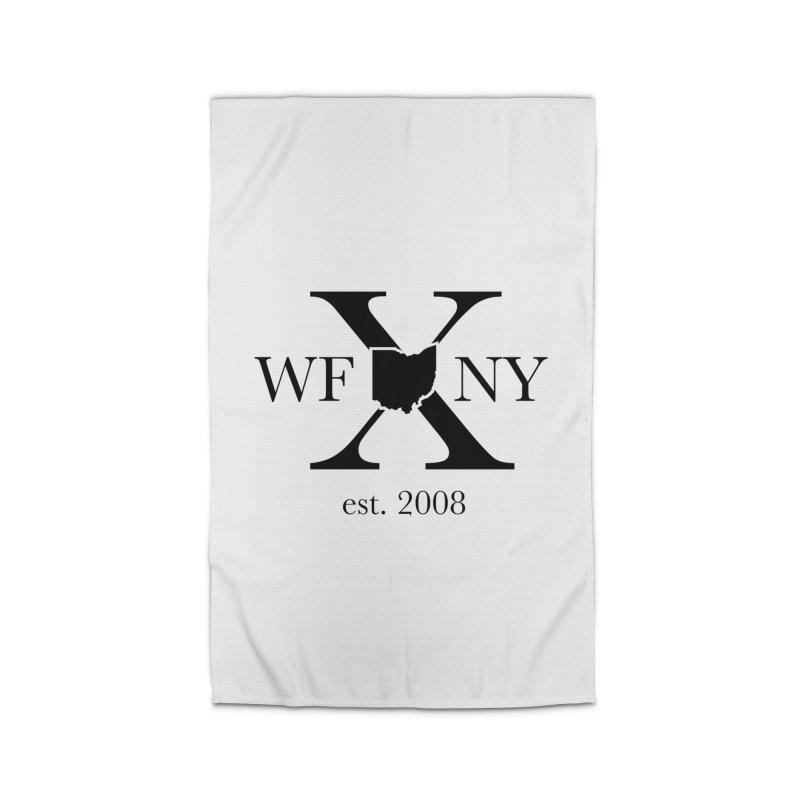 WFNYX Logo Black Home Rug by WFNY - WaitingForNextYear