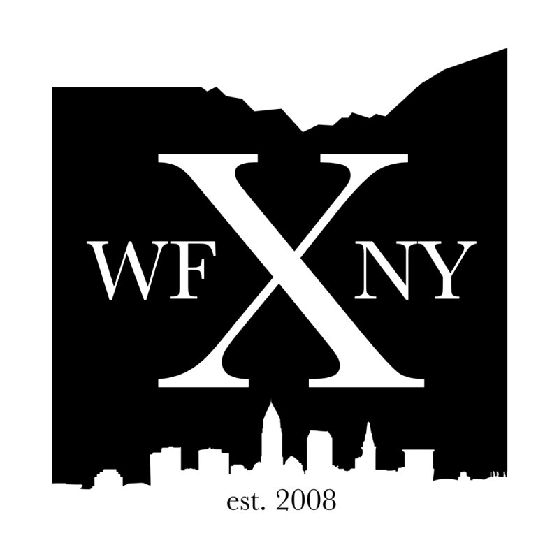 WFNYX Cleveland Skyline Home Tapestry by WFNY - WaitingForNextYear