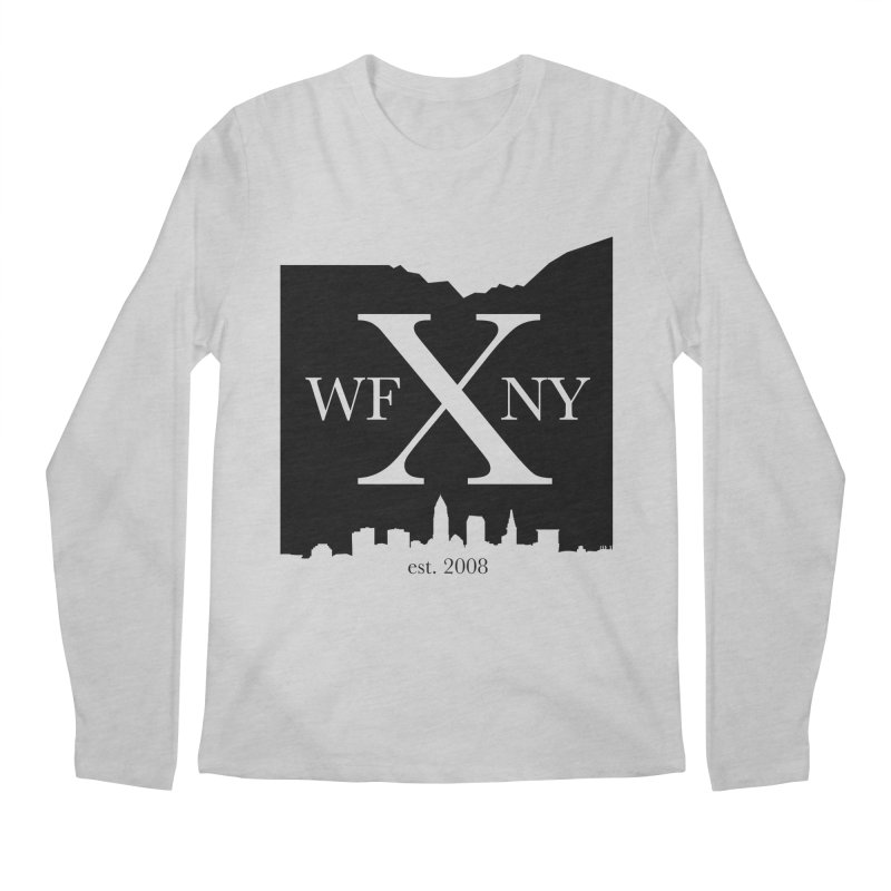 WFNYX Cleveland Skyline Men's Longsleeve T-Shirt by WFNY - WaitingForNextYear