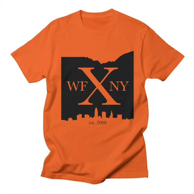 WFNYX Cleveland Skyline Men's T-Shirt by WFNY - WaitingForNextYear