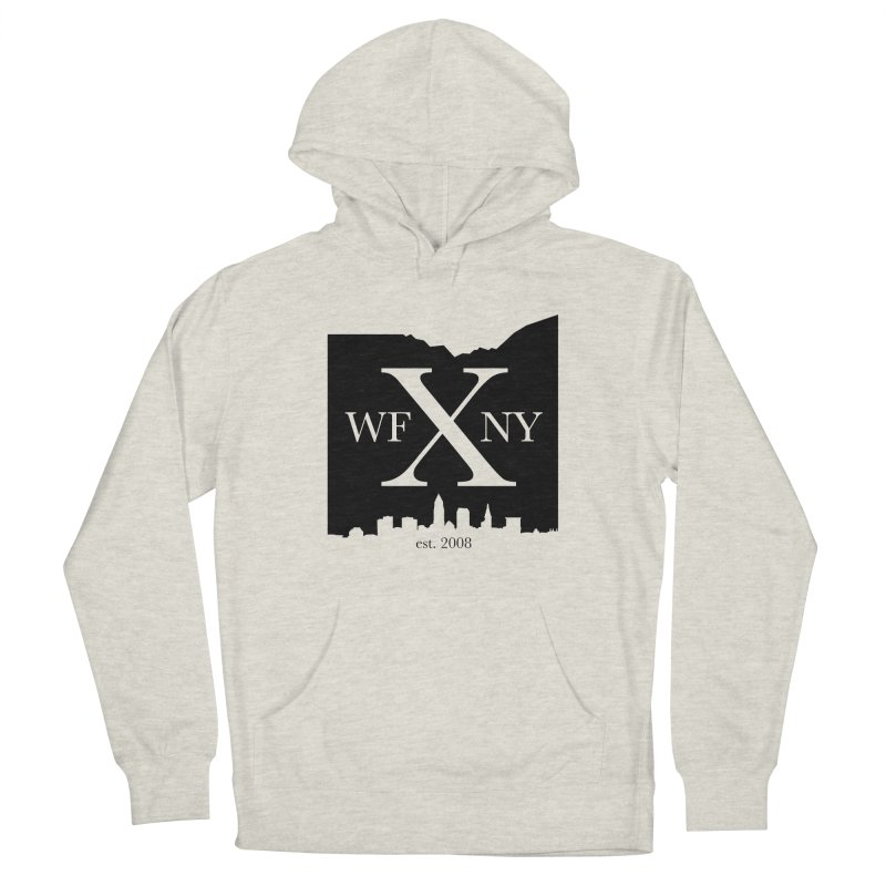 WFNYX Cleveland Skyline Men's Pullover Hoody by WFNY - WaitingForNextYear