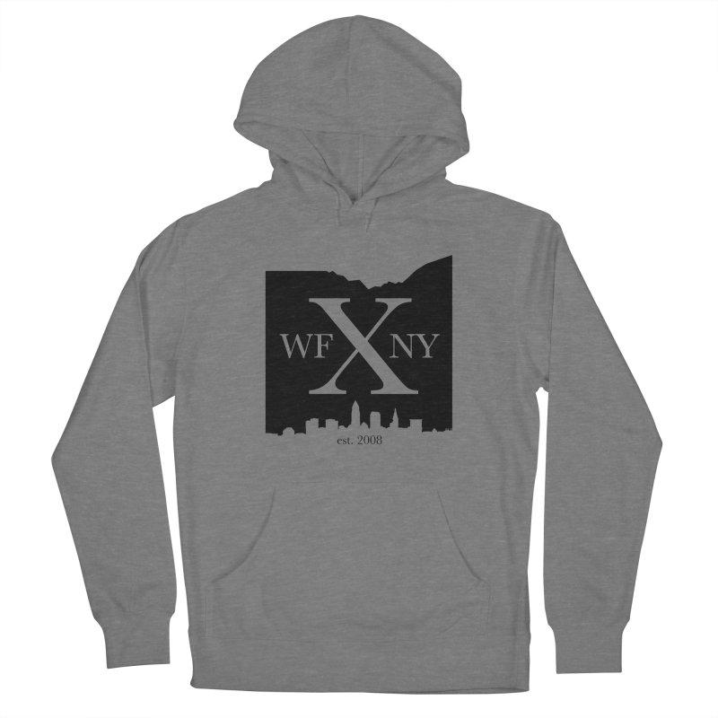 WFNYX Cleveland Skyline Men's Pullover Hoody by WFNY - WaitingForNextYear