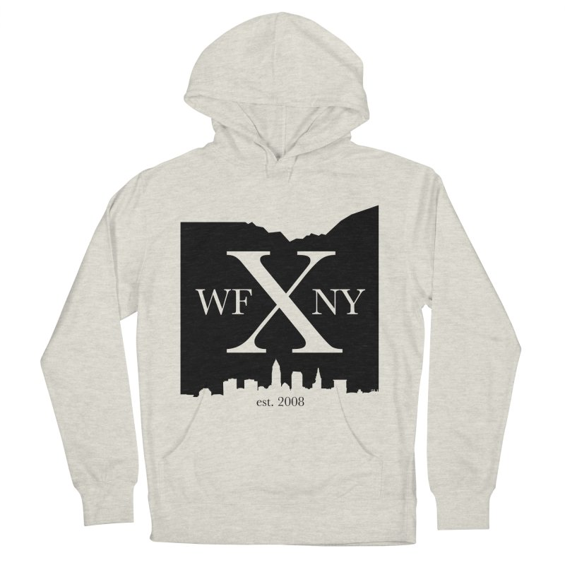 WFNYX Cleveland Skyline Men's French Terry Pullover Hoody by WFNY - WaitingForNextYear