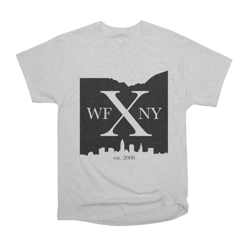 WFNYX Cleveland Skyline Women's Heavyweight Unisex T-Shirt by WFNY - WaitingForNextYear