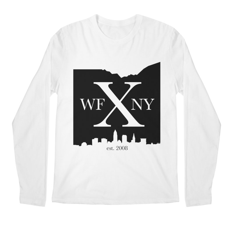 WFNYX Cleveland Skyline Men's Regular Longsleeve T-Shirt by WFNY - WaitingForNextYear