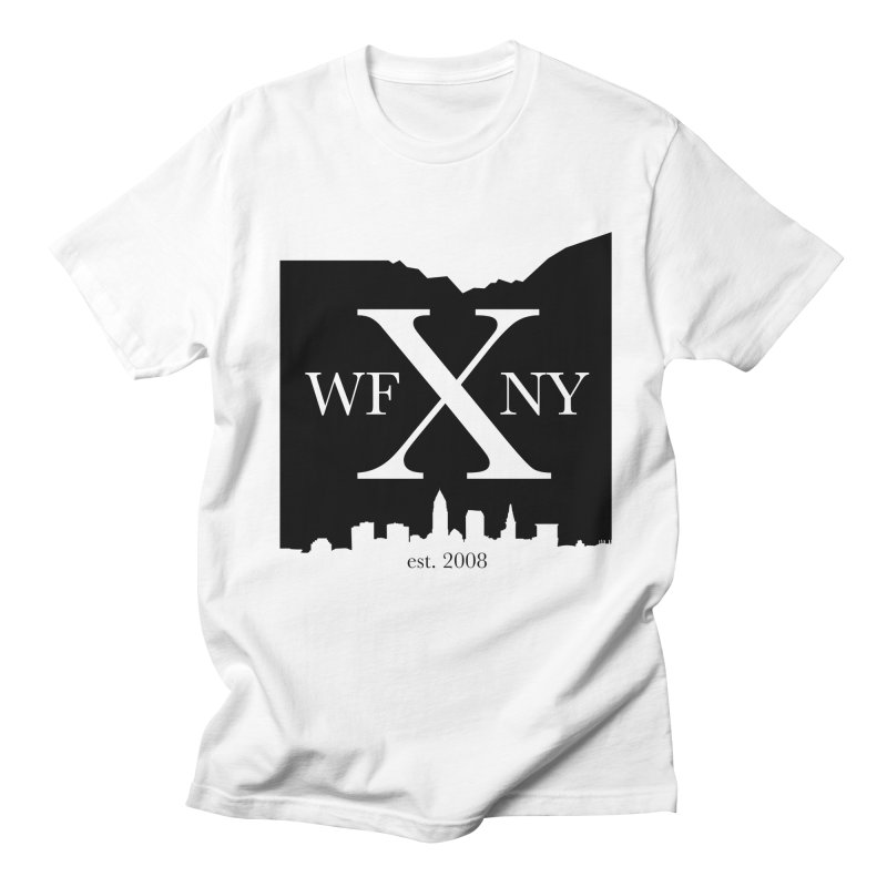 WFNYX Cleveland Skyline Men's Regular T-Shirt by WFNY - WaitingForNextYear