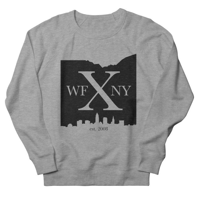 WFNYX Cleveland Skyline Men's French Terry Sweatshirt by WFNY - WaitingForNextYear